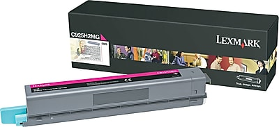 Lexmark C925 Magenta Toner Cartridge (C925H2MG), High Yield