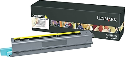 Lexmark C925 Yellow Toner Cartridge (C925H2YG), High Yield