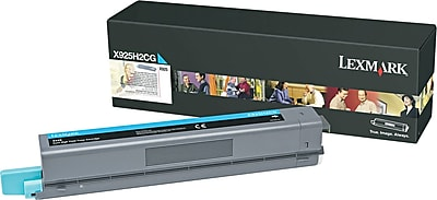 Lexmark X925 Cyan Toner Cartridge (X925H2CG), High Yield