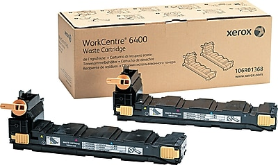 Xerox WorkCentre 6400 Waste Toner Cartridge (106R01368), 2/Pack