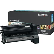 Lexmark XL Black Toner Cartridge (C782U1KG), Extra High Yield, Return Program