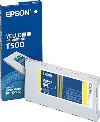 Epson Ink Cartridges, T500 (T500201), Yellow