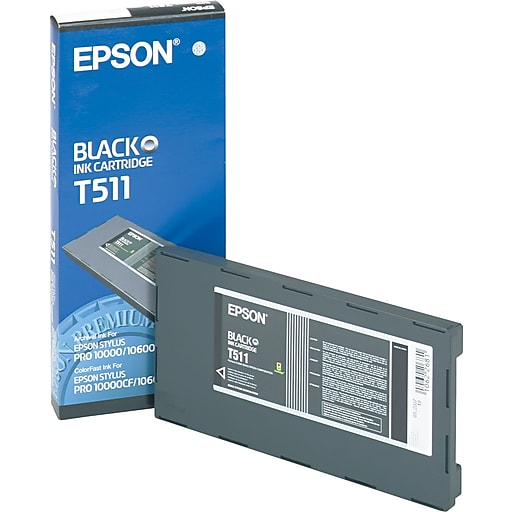 epson t511 black archival ink cartridge t511201 staples. Black Bedroom Furniture Sets. Home Design Ideas