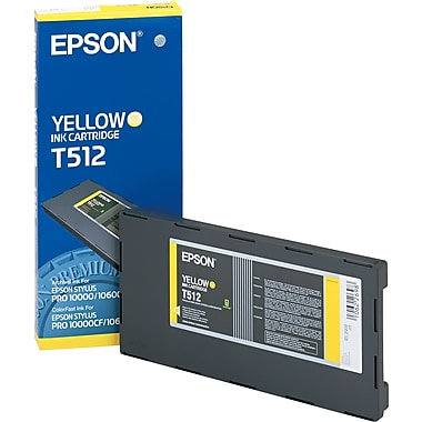 Epson T512 Yellow Archival Ink Cartridge (T512011)