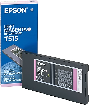 Epson Ink Cartridge, T515 (T515201), Light Magenta