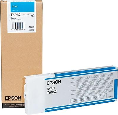Epson® T606200 (60) Ink, Cyan
