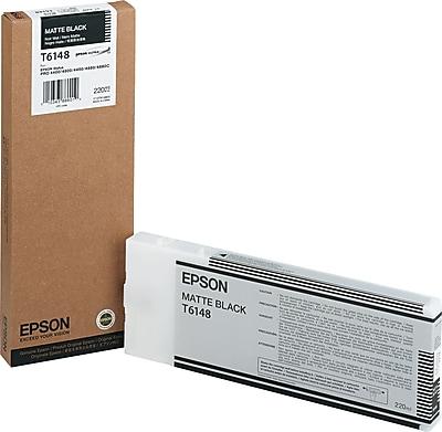Epson® T614800 (61) Ink, Matte Black