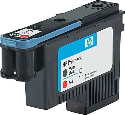 HP (C9409A) Matte Black and Red Printhead