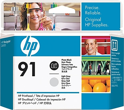 HP C9463A) Photo Black and Light Gray Printhead Dual Pack