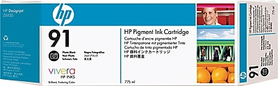 HP 91 (C9465A) Photo Black Inkjet Cartridge