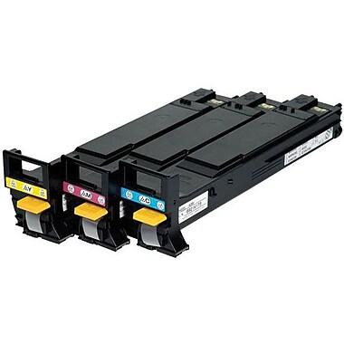 Konica Minolta Color Toner Cartridge (A06VJ33), High Yield 3/Pack