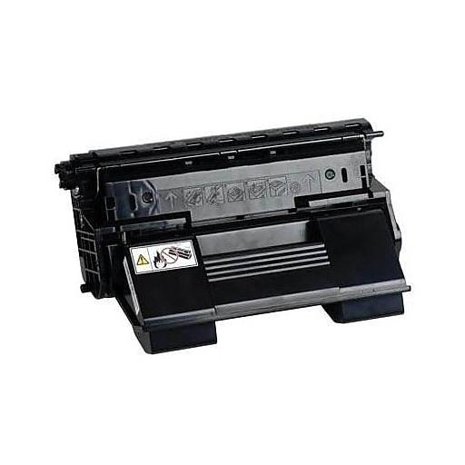 konica minolta black toner cartridge a0fn011 standard staples. Black Bedroom Furniture Sets. Home Design Ideas