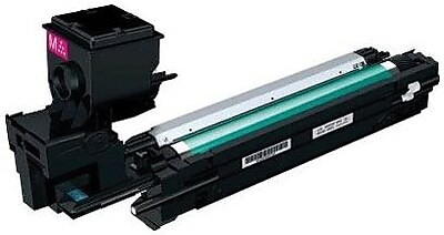 Konica Minolta Toner Cartridge, A0WG0DF, High Yield, Magenta
