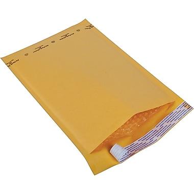 Staples® - Enveloppes à bulles Kraft pour l'expédition, n° 3, 8 1/2 po x 14 1/2 po, bte/100 - Pull-Tab Strip (bande à tirette)