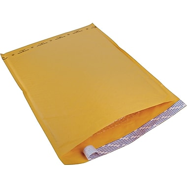 Staples® Kraft Bubble Mailer Envelope #7, 14-1/2