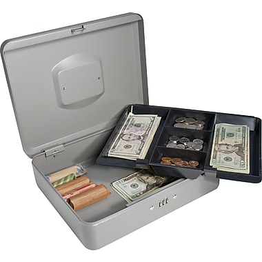 Barska® Large Cash Box with Combination Lock