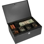Barska® Cash Box with Six Compartment Tray and Key Lock
