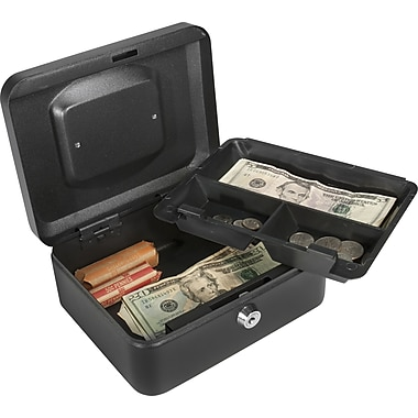 Barska® Small Cash Box with Key Lock