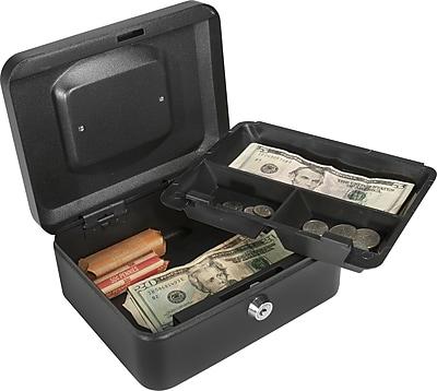 Barska® Small Cash Box with Key Lock