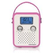 Crosley Radio Songbird Portable Radio, Pink