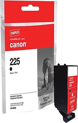Staples® Remanufactured Inkjet Cartridge, Canon PGI-225 (4530B001), Black