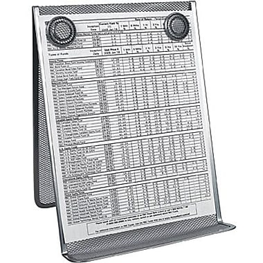 Staples® Metal Mesh Document Holder, Silver