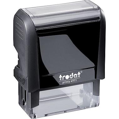Trodat® – Timbre autoencreur climatiquement neutre, 4913, 5 lignes, 7/8 po x 2 3/8 po
