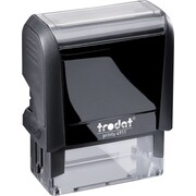 """Trodat® 4915 DIY Climate-Neutral Self-Inking Stamp, 6-Line, 1"""" x 2-3/4"""""""