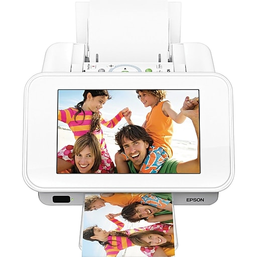 Epson Picturemate Show Digital Frame Compact Photo Printer Staples