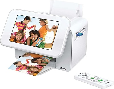 Epson Picturemate Show Digital Frame Compact Photo Printer Staples