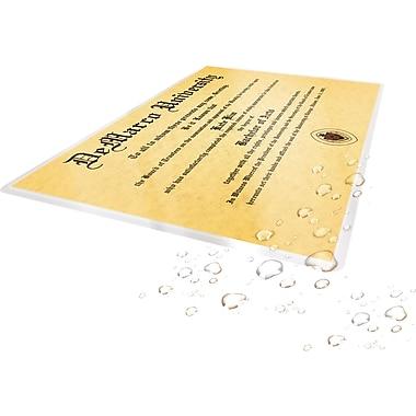 Staples® - Pochettes de plastification HeatSeal, 3 mil, format lettre, paq./100