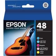 Epson 48, Color Ink Cartridges,  C/M/Y/LC/LM 5-Pack (T048920)