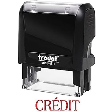 Trodat® Printy 4911 Climate Neutral Self-Inking Stamp - CRÉDIT