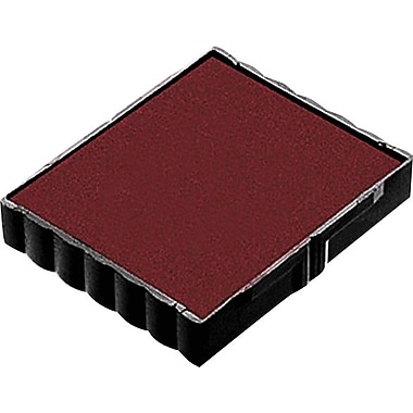 Trodat® 4921 Replacement Ink Pad, Red, 2-Pack