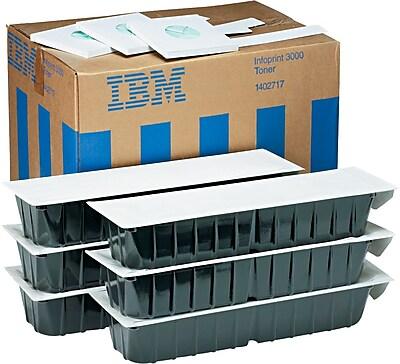 IBM 1402717 Toner Cartridges, 6/Pack