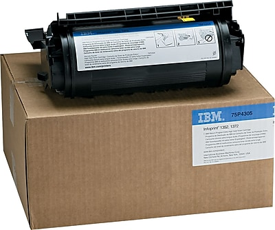 InfoPrint Return Program Toner Cartridge, 75P4305, Extra High Yield, Black