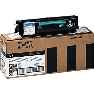 InfoPrint Black Toner Cartridge (75P5711), High Yield