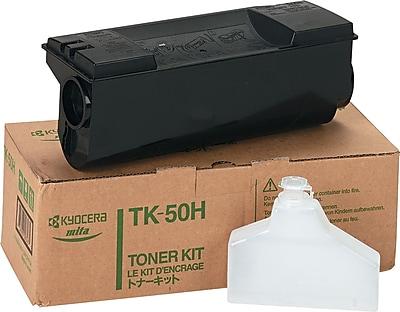 Kyocera Mita TK-50 Black Toner Cartridge (TK50H), High Yield