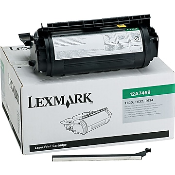 Lexmark 12A7468 Black High Yield Toner Cartridge