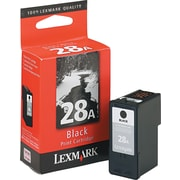 Lexmark Ink Cartridge, 28 (18C1528), Black