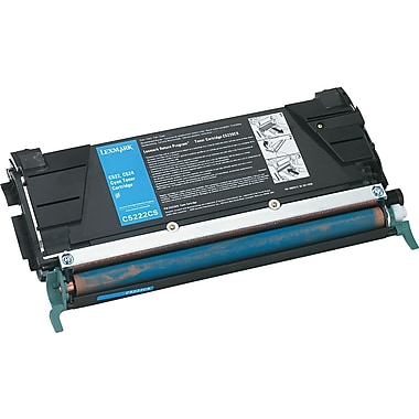 Lexmark Cyan Toner Cartridge (C5222CS)