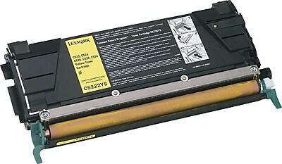 Lexmark Yellow Toner Cartridge (C5222YS)