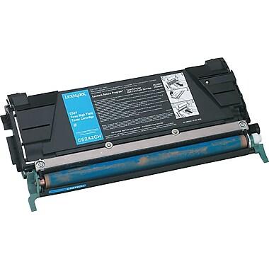 Lexmark Cyan Toner Cartridge (C5242CH), High Yield
