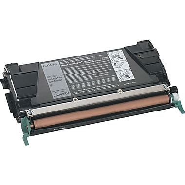 Lexmark Black Toner Cartridge (C5242KH), High Yield