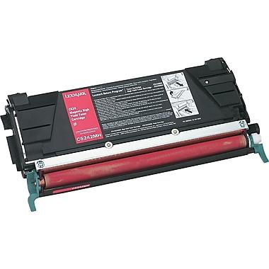 Lexmark Magenta Toner Cartridge (C5242MH), High Yield