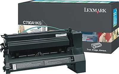 Lexmark Black Toner Cartridge (C780A1KG), Return Program