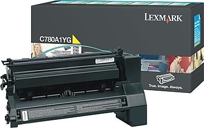Lexmark Yellow Toner Cartridge (C780A1YG), Return Program