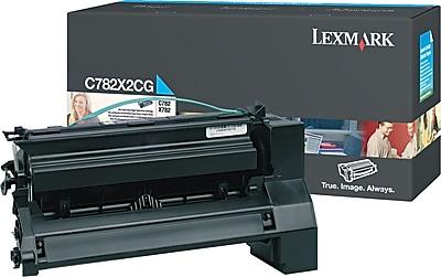 Lexmark Cyan Toner Cartridge (C782X2CG), Extra High Yield