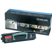 Lexmark X342n Black Toner Cartridge (X340H21G), High Yield