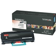 Lexmark™ Black Toner Cartridge, X463H21G, High Yield